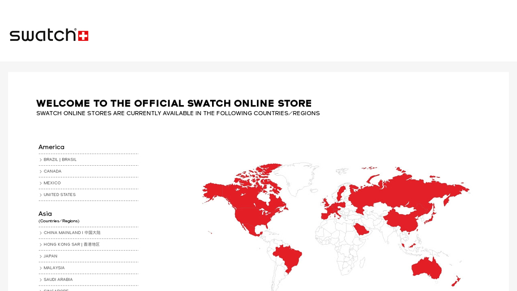 Swatch Online-Shop