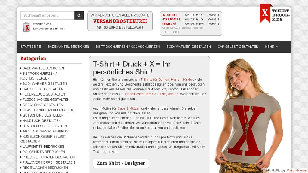 T-Shirt-Druck-X Store