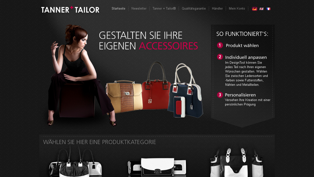 Tanner+Tailor Store