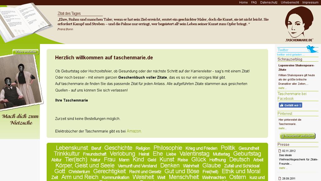 Taschenmarie Online-Shop
