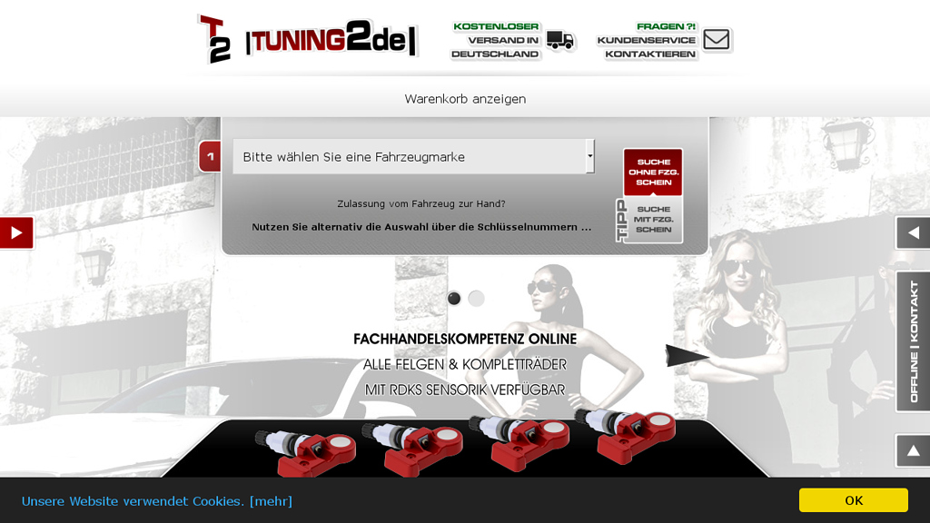 Tuning2 Online-Shop
