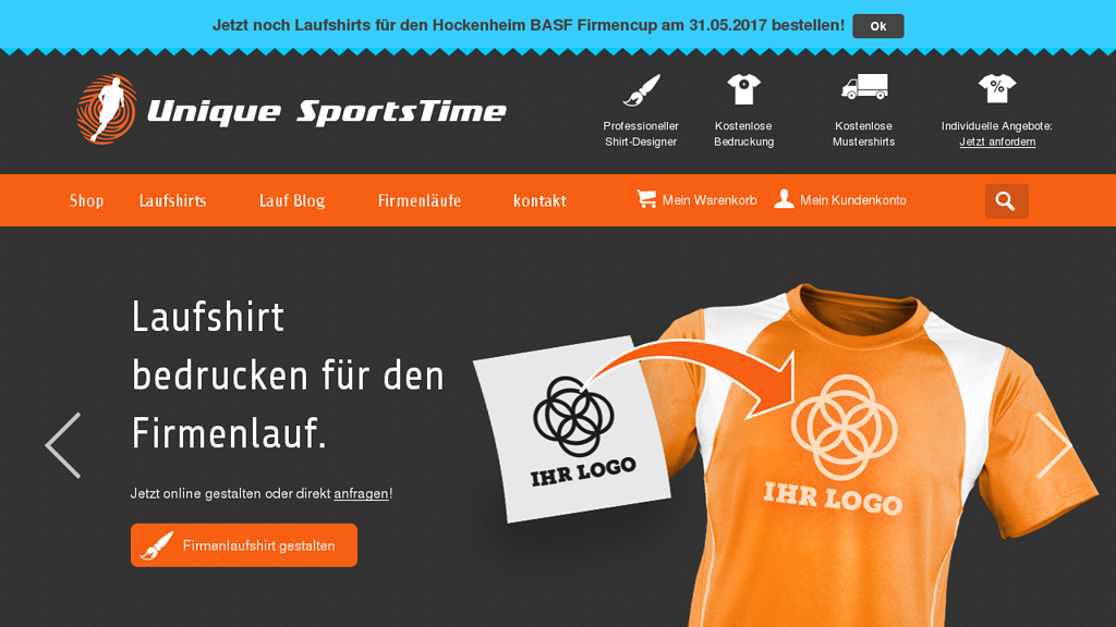Unique SportsTime Online-Shop