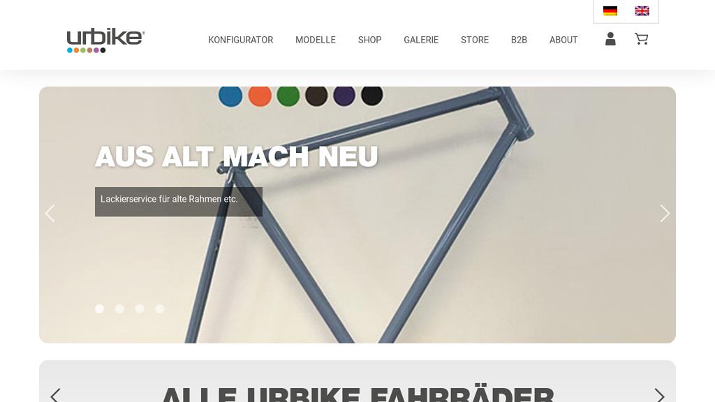 urbike Online-Shop