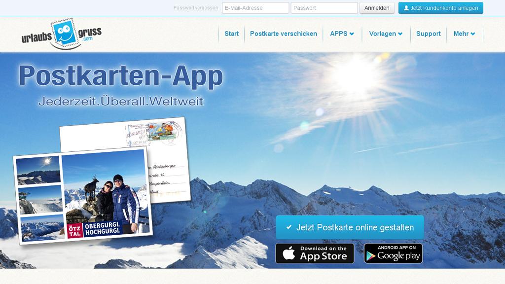 Urlaubsgruss.com Online-Shop