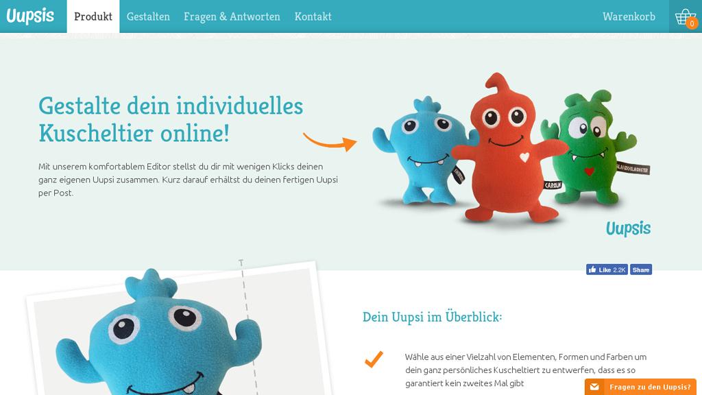 Uupsis Online-Shop