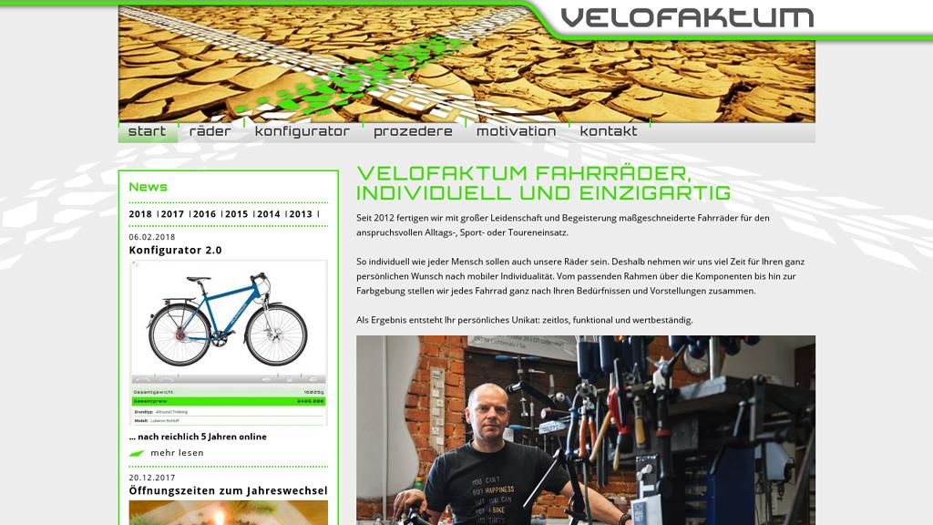 Velofaktum Online-Shop