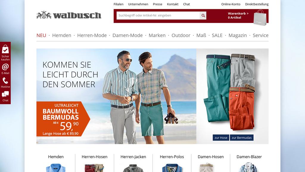 Walbusch Online-Shop