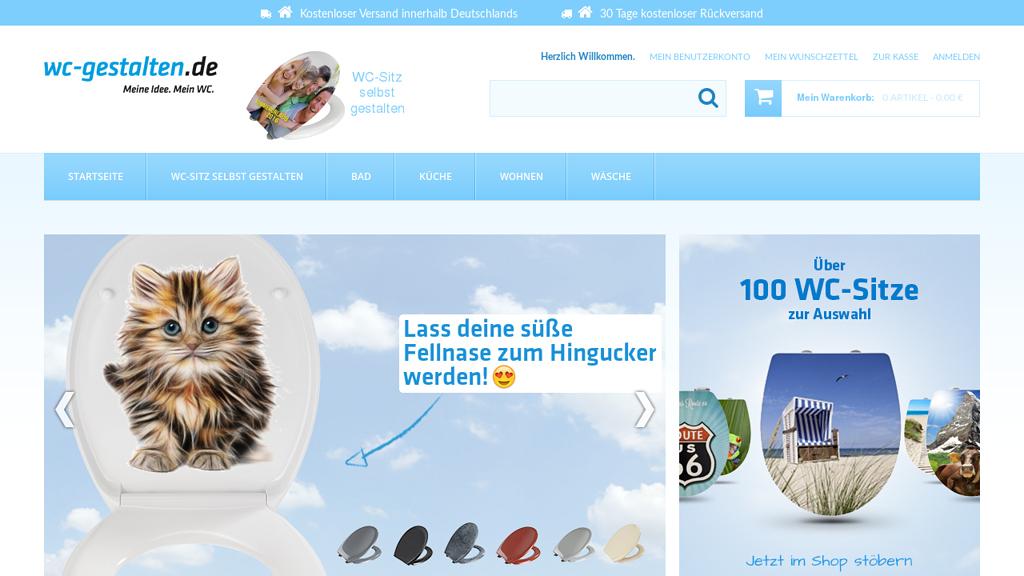 wc-gestalten.de Online-Shop