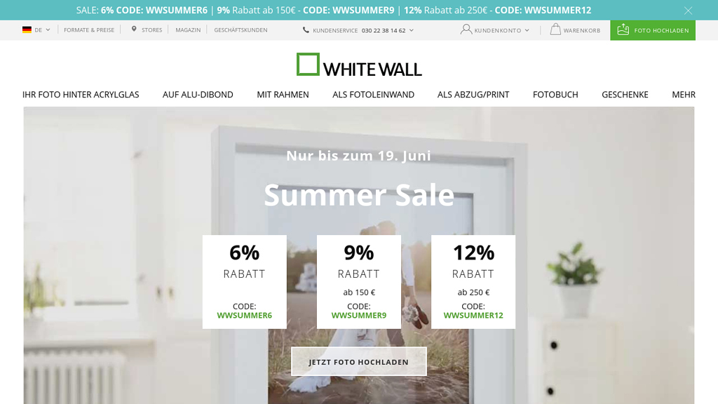 WhiteWall Online-Shop