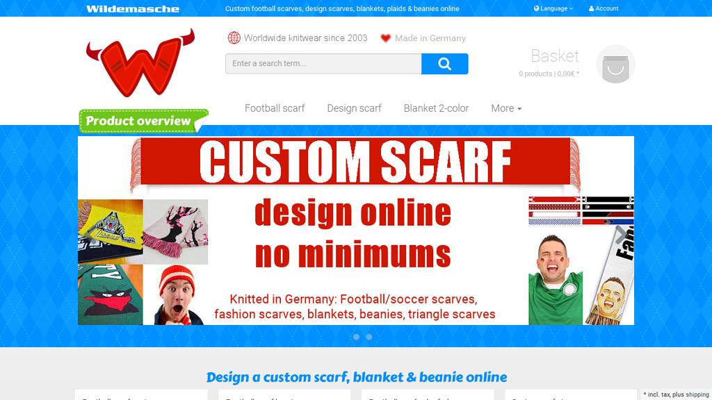 Wildemasche Online-Shop