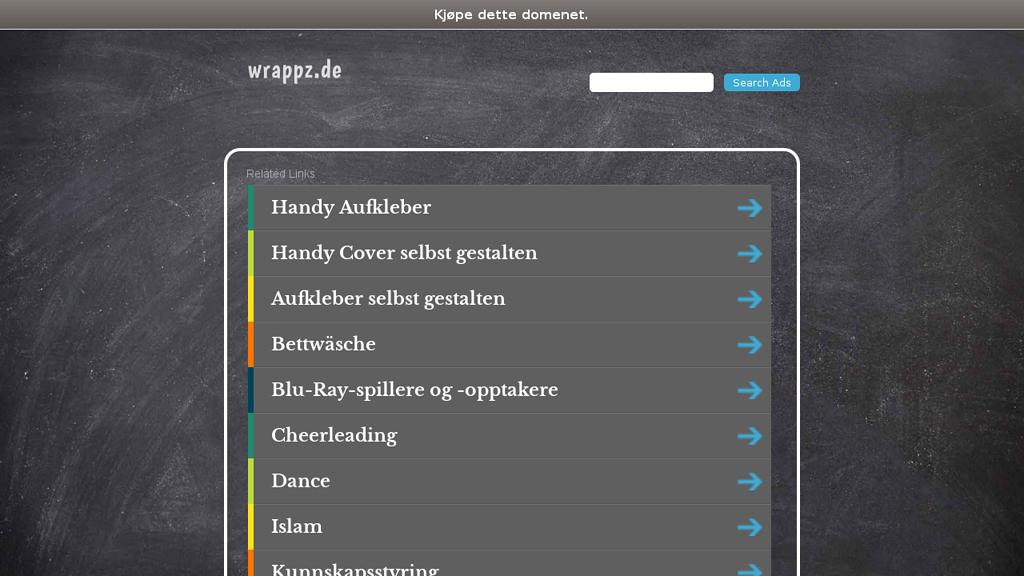 Wrappz Online-Shop
