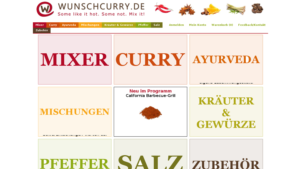 Wunschcurry Store