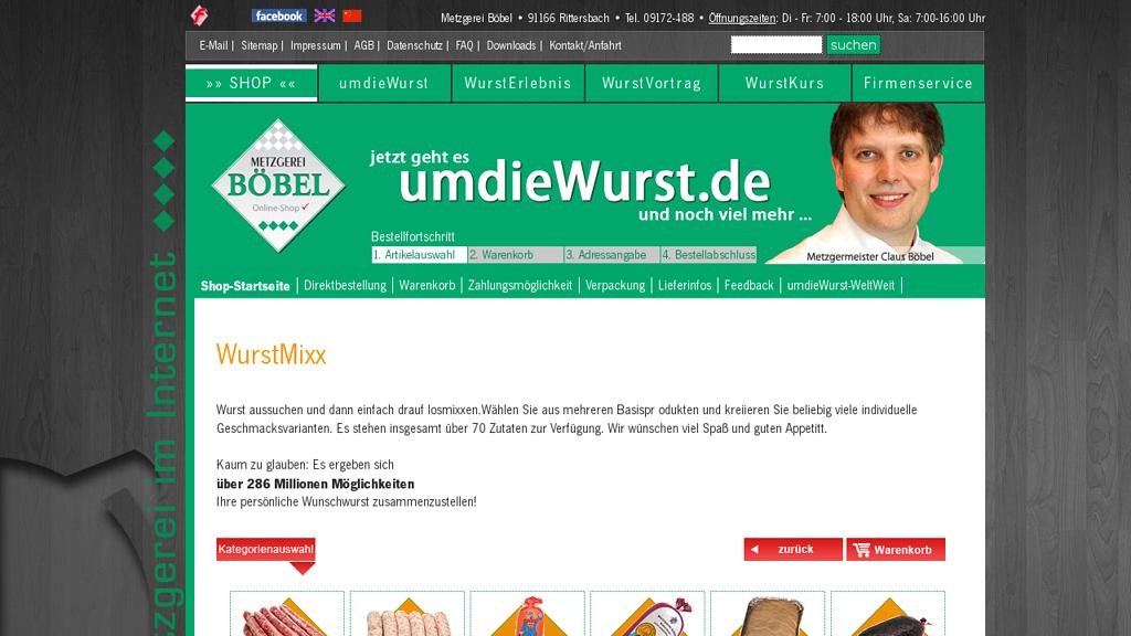 Wurstmixx Online-Shop