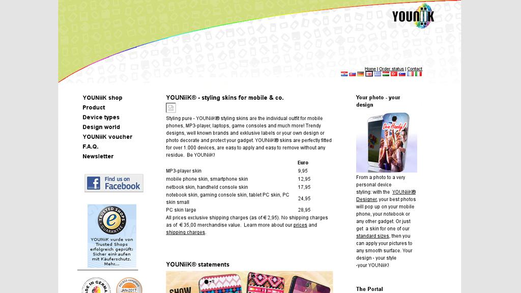 YOUNiiK Online-Shop