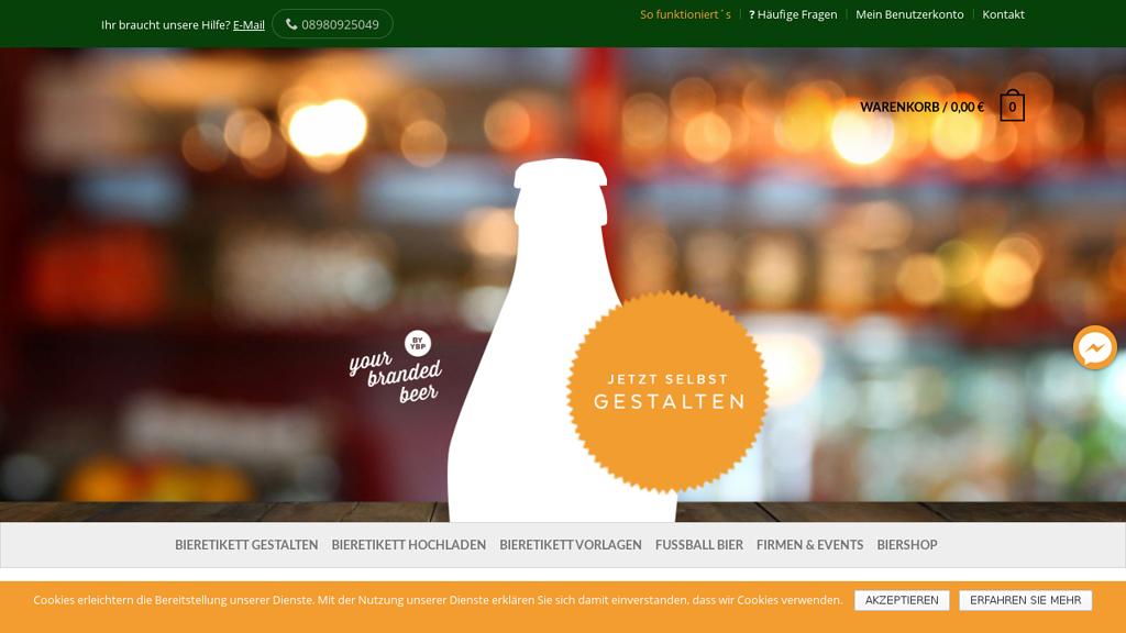yourbrandedbeer Online-Shop