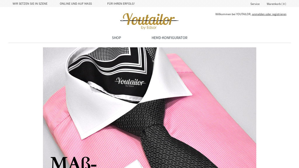 YOUTAILOR Online-Shop