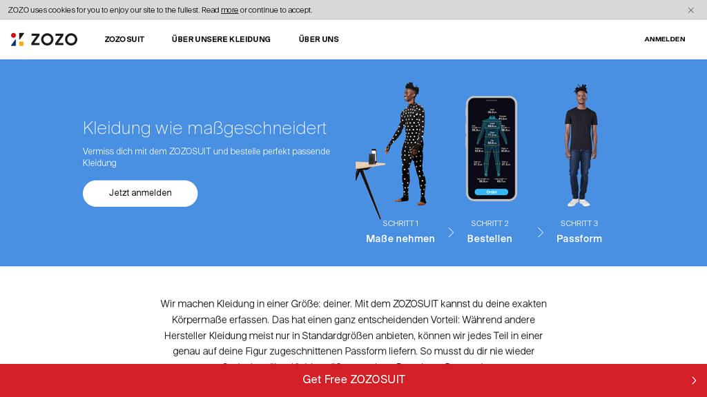 ZOZO Online-Shop